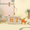 : Light Grey Stitch Your Own Design - Luggage Tag