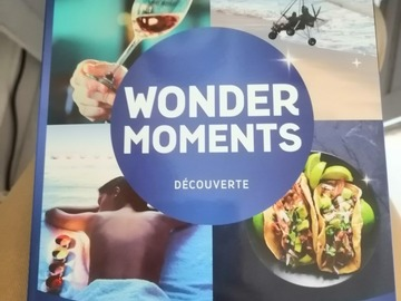 "Vente: Coffret Wonderbox ""Wonder Moments Découverte"" (39,90€)"