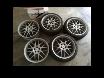 Selling: Champion Motorsport - RG5 Forged Monolite Wheels