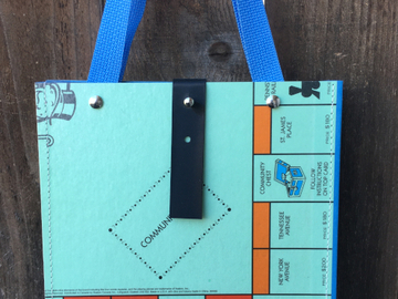 Selling with online payment: Monopoly Gameboard Bag