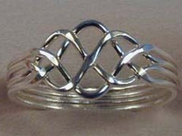 Selling with online payment: 4pc. Lite Puzzle Ring
