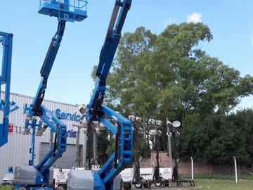 En alquiler: Brazo Articulado Eléctrico de 16 metros