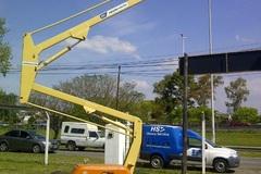 En alquiler: Brazo Articulado Eléctrico de 11 metros