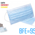 Instant Buy: Emergency-Aid Products: EEE 3-Layer Protective Mask BFE=95% (1000 pcs in 20 boxes)