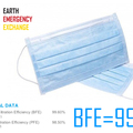 Instant Buy: Emergency-Aid Products: EEE 3-Layer Protective Mask BFE=99%  (1000 pcs via DHL)