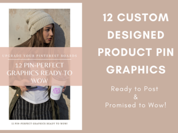 Offering online services: 12 Pin-Perfect Product Pin Graphics