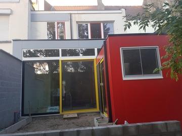 .: [REALISATIE] Verbouwing van een rijwoning in Bauhaus stijl.