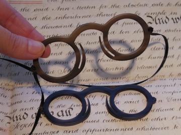 Verkaufen mit Widerrufsrecht (Gewerblicher Anbieter): Federbrille des Mittelalters