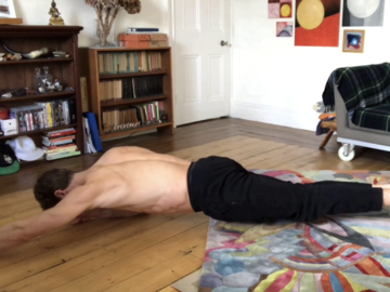 Selling with online payment: ADVANCED HOME WORKOUT DAY 4