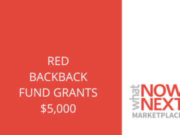 Announcement: Red Backpack Fund Grants