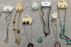 Buy Now: 100 NECKLACES- MACY'S ,ERICA LYONS,  SOPHIA AND KATE, ETC.