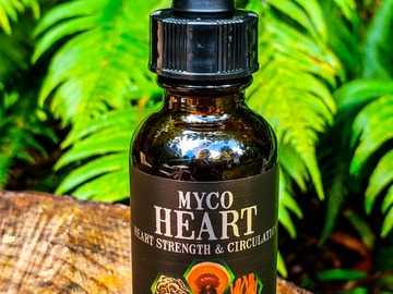 Selling with online payment: 1 oz Myco Heart Spagyric Blend