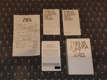 Vente: Carte cadeau Zara (200€)