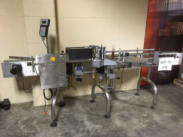 Selling Products: CVC 300II Labeler machine