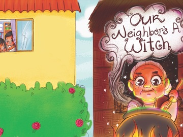 Offering with online payment: 24 Pages Children's Book with Book Cover