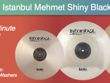 Announcement: Last Day! Win Free Cymbals & Washers! The Cymbal Survey Giveaway!
