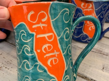 Selling with online payment: St. Pete Mug