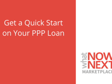 Announcement:  Quick Start For Your PPP Loan
