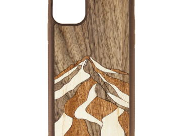 Selling with online payment: Mt. Hood Wood Inlay Phone Case