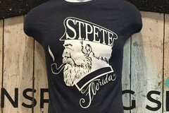 Selling with online payment: St Pete Captain T-Shirt
