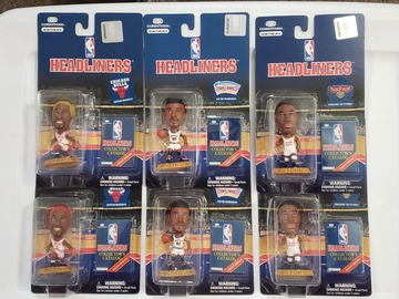 Buy Now: NBA headliner figurines-All new sealed-Resale Collector