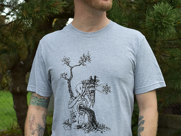 Selling with online payment: Ancient Wisdom Unisex Tee