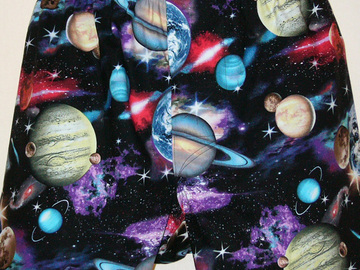 Selling with online payment: Planets cotton boxer shorts