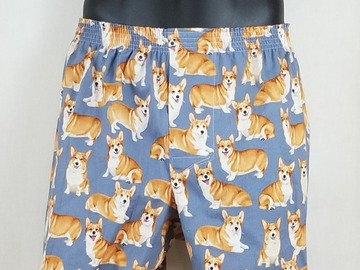 Selling with online payment: Corgi cotton boxer shorts