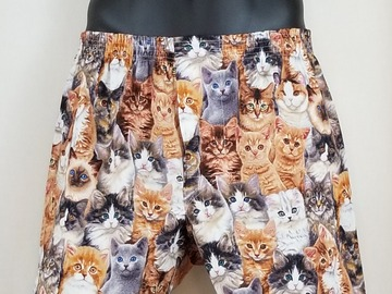 Selling with online payment: Cats cotton boxer shorts