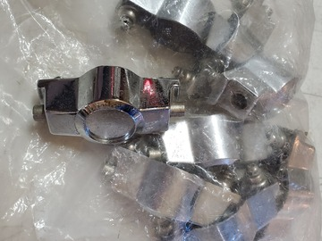 Selling with online payment: 8 CB700 round face lugs- double ended for snare drums w screws