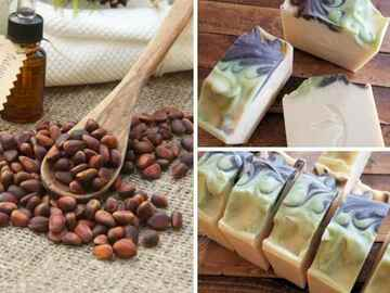 Selling with online payment: Cedarwood and Patchouli Coconut Milk Soap