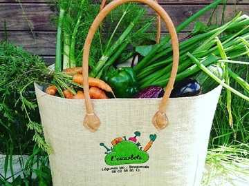 Vente au détail: Panier cabas sac de plage en paille cadeaux personnalisé