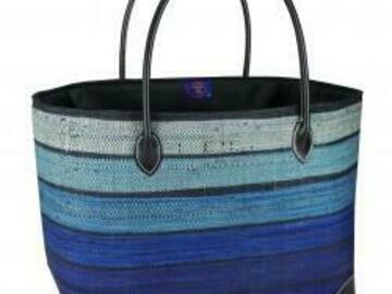 Vente au détail: sac cabas de plage course cadeau personnalisé