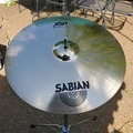 "SOLD!: SOLD! Sabian XSR 17"" fast crash cymbal - excellent"