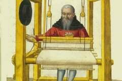 Verkaufen: métier à tisser entièrement doublé Médiévale