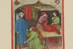 Verkaufen: marchand de tissu medievale entièrement doublé