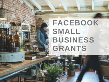 Announcement: Facebook Small Business Grants Program