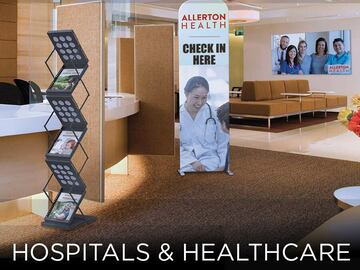 Sell your product: Hospital & School Displays