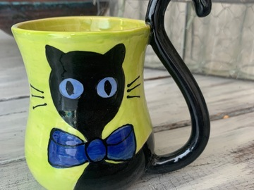 Selling with online payment: Cat Mug