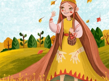 Offering with online payment: Package of children's illustrations. 26 illustrations.