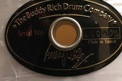 Selling with online payment: Buddy Rich Drum Company 5 Piece Drum Set
