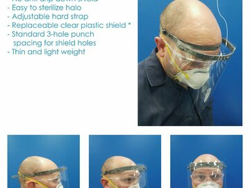 Sell your product: Avid PPE Face Shield 2