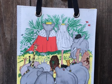 Selling with online payment: Babar Literature Bag