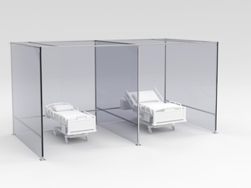 Sell your product: Modular Unistrut Portable Hospital Rooms