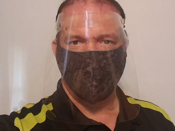 Sell your product: Reusable Plastic Faceshields