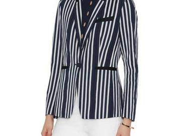 For Sale: RAG & BONE: Windsor Blazer | Navy -White Stripe | Size 8