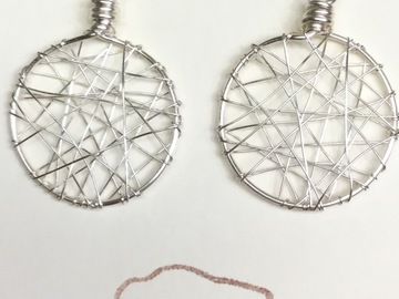 Selling with online payment: Dream Catcher Wire Earrings