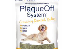 Selling with online payment: Plaque Off Dental Treats 6oz. Bag