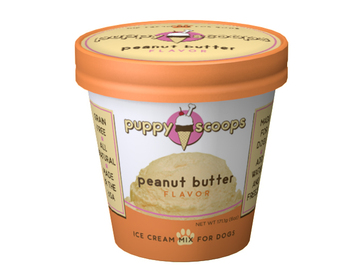 Selling with online payment: Puppy Cake Ice Cream Peanut Butter