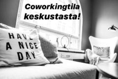 Renting out: Coworking tilaa Helsingin keskustassa